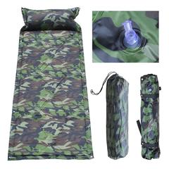 Camping Self-inflating Air Mat Mattress Inflatable Sleeping Pad with Pillow+Carry Bag