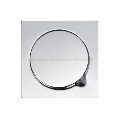 6 by 6 inches 150 x 150mm Bathroom Anti-smell Stainless Steel Floor Drain Cover Floor Trap mirror finish onc size