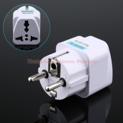 EU Standard Plug Adapter Travel Charger Adapter Converter Power Socket Plug Converter
