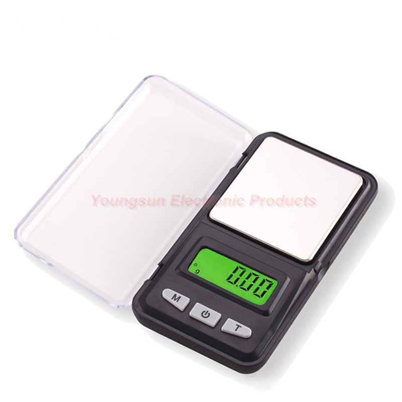 Men's Accessories 100g/0.01g Precision Weighing Jewelry Scale Digital Display Pocket Scale
