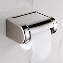 Modern Stainless Steel Bathroom Toilet Paper Holder Toilet Roll Dispenser Toilet Tissue Paper Box mirror finish wall mounted