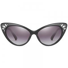 2019 New Fashion UV400 Women Cat Eye Sunglasses Eyewear Shades Inspired Retro Vintage Sun Glasses c02 one size