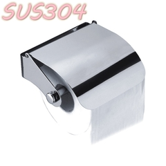 304 Stainless Steel Anti-rust Shining Toilet Tissue Roll Dispenser Rack SUS304 Toilet Paper Holder mirror finish wall mounted