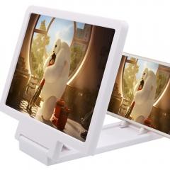 Screen Magnif 3D Movie Amplifiers 3X Zoom Enlarged Phone Screen Video Radiation Eye desk magnifier