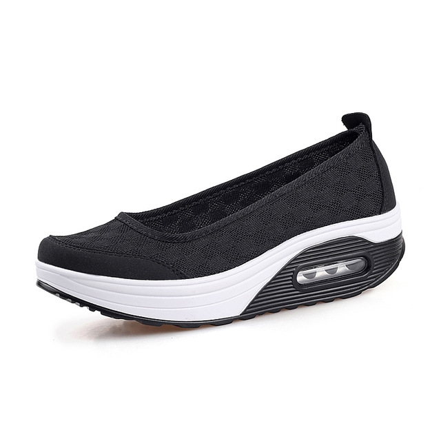 c1b29856891 Women Flats Platform Shoes Sneakers Slip On Shoes Comfortable Casual ...