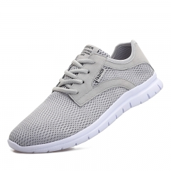 Super light net ventilated running shoes casual shoes gray 38