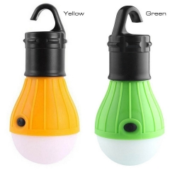 Led portable hook light mini outdoor tent light camping light emergency light 3W green 12.1*5.2*5.2cm 3w
