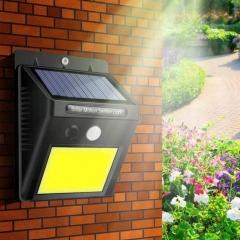 The New Solar light 48LED high brightness outdoor wall lamp body sensor light waterproof