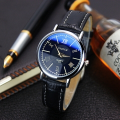 New ladies 313 watch women's business quartz watch women's watch fashion watch black belt black plate