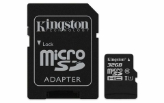 Kingston Canvas Select 32GB microSDHC Class 10 microSD Memory Card as shown kingston 32g 10m/s