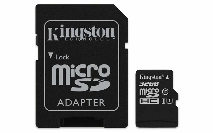 Kingston Canvas Select 32GB microSDHC Class 10 microSD Memory Card as shown kingston 32g 10m/s