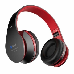 2EST Wireless Headphones  on Ear Bluetooth Noise Cancelling Headphones with Mic for iPhone black