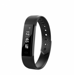 2EST ID115 Bluetooth  Waterproof Smart Watch  Fitness Tracker Smartband for Android IOS black general size