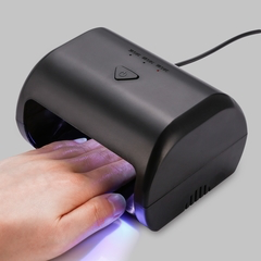9W Manicure Tool 3 High Power LED / UV Phototherapy Nail Gel Lamp black black