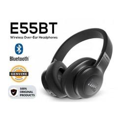 JBL E55BT Over-Ear Wireless Headphone subwoofer headset white