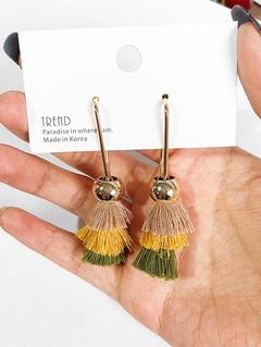 Bohemian Style Tassel Design Earrings