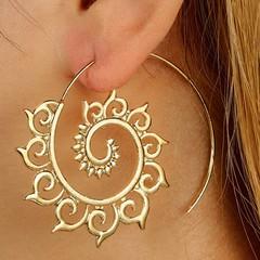 Metal Unique Earrings