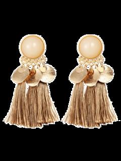 Bohemian Disc Tassels Earrings