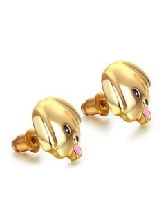 Cute Puppy Stud Earring