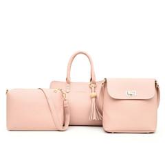 LARAINE Slant Bag New Type Bag Handbag Single Shoulder Bag one size black