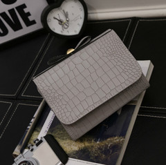 LARAINE Butterfly-knotted Bag One-shoulder Slant Bag Fashion Crocodile-print Mini-square Bag beige one size