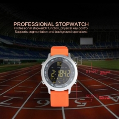 EX18 Sport Smart Watch Waterproof IP68 Passometer Swimming Smartwatch Bluetooth Watch IOS Android black