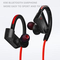 K98 sports Bluetooth headset stereo bin aural earphone running wireless Bluetooth headset black