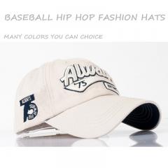 Hit Hop Men/Women Baseball Caps Dad Casquette Snap Back Hats Fashion Sport Hat Washed Cotton Cap