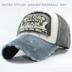 Retro Stylish Men Baseball Caps Dad Casquette Snap Back Hats Fashion Sport Hat Washed Cotton Cap