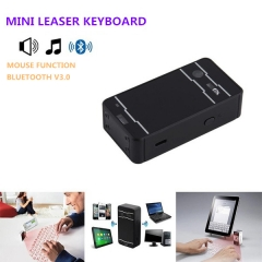 Bluetooth Laser keyboard Wireless Virtual Projection keyboard Portable for IOS Android PC Notebook black one size
