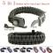 5 In 1 Multifunction Outdoor Survival Gear Escape Para cord Bracelet Outdoor Camping Tools Bracelet