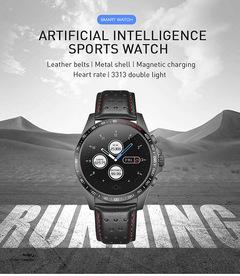 Artificial Intelligence Multifunctional Smart Watch Smart Bracelet men Watch Women Smartwatch black