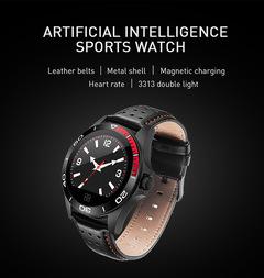 New CK21 Artificial Intelligence Multifunctional Smart Watch Smart Bracelet  Watche men Smartwatch black