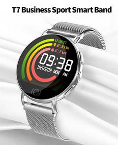 T7 Business Artificial Intelligence Multifunctional Smart Watch Bracelet men Watch Women Smartwatch black