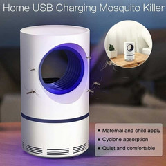 Electronic Mosquito Killer Lamp USB Mosquito Trap Light LED Pest Trap Light Killing Trap Lamp as pic one size
