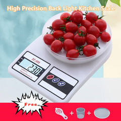 High Precision Back Light Digital LCD Scale Kitchen Scale Household Food Electronic Scales as pic one size