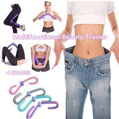 Leg Strength Agility Leg Trainer Beautiful Legs Thigh Master Legs Fitness Equipment Gym Sports purple