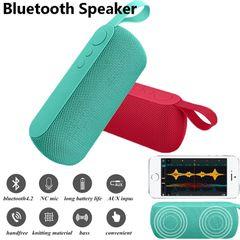 New Q106 Portable Bluetooth Speaker TF Support Outdoor Super Bass Wireless Speaker black one size