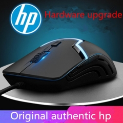 Hp new wired 6D Mouse USB Game Mouse Brand Quality Comfortable feel black one size