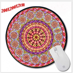 Round Mouse Pad Office Ordinary Mouse Pad Game Mouse Pad 1 as shown
