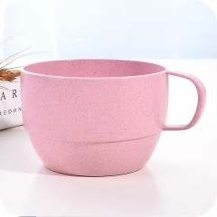 6-Piece Creative Water Cup Couple Coffee Cup Simple Student Milk Mug pink 6 pieces