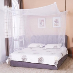 Simple and fine mosquito net polyester Mosquito Net Insect nets home Bed Net mosquito-proof Curtain white bed width:100cm