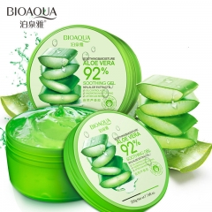 Natural aloe vera Smooth Gel Acne Treatment Face Cream for Hydrating Moist Repair After Sun