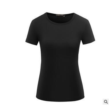 d26663336ff7 5XiaoHuo | T Shirt Women Cotton Elastic Basic T-shirts army green ...