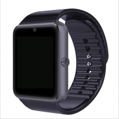 Smart Fashion Watch Men GT08 Card Bluetooth Connectivity for IOS Android Smartwatch black
