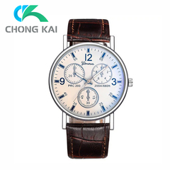 Men Women Fashion Wrist Watch Classic Casual Style Wristwatch Quartz Watch white