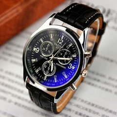 2019men watches Men Business Wristwatch Luxury Famous Male Clock Sports Quartz Watch Valentines Gift black black