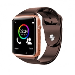 A1 Smart Watches SIM/TF Bluetooth Sport WristWatch Smartwatch with Camera Android Phone Infinix golden