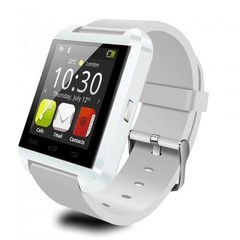 Smart Watches U8 Sport Pedometer Handsfree Bluetooth Smartwatch Wristband for Android Phone white