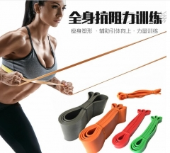 Yoga fitness rally ring men's training resistance belt strength training pull-up tendons assist random